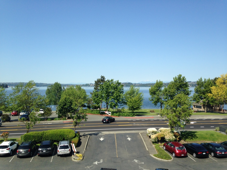 The view from work. Rightside in Kirkland.